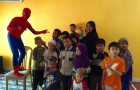 Spiderman is in the house…