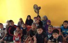 The children of Rumah Anak Yatim Asnaf Baitul Nurrawdhah.
