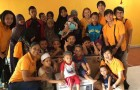 We are happy to be able to share half-a-day with the children…