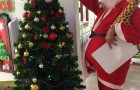 Check out our cute Santa Claus!!!!