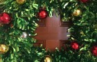 Christmas wreath to welcome our children and parents