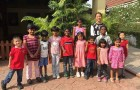 The wonderful children from the Lighthouse Children Welfare Home